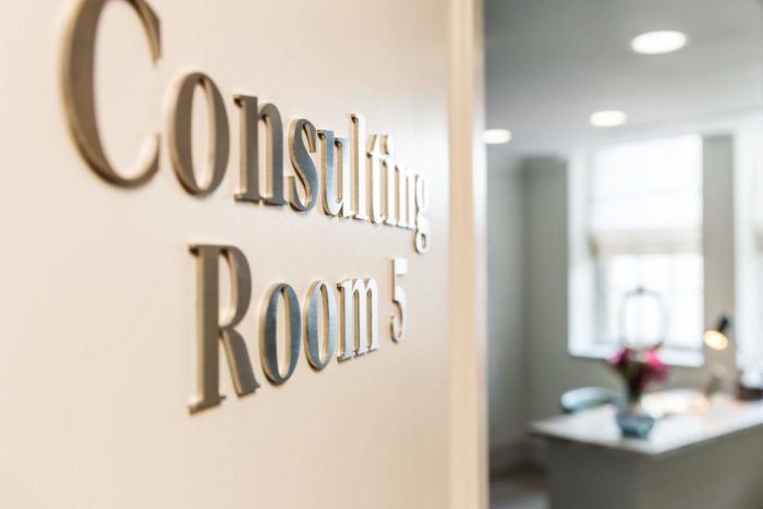fertility clinic consultation room